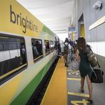 Historic Brightline passenger train project launches its first trips between Fort Lauderdale, West Palm Beach (Video)