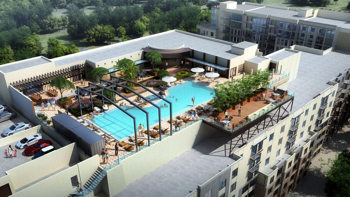 Downtown Orlando Area Ivanhoe Village Apartments Retail