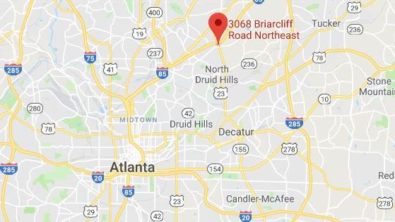 RaceTrac Wendys Express Oil planned at Clairmont Road at I85
