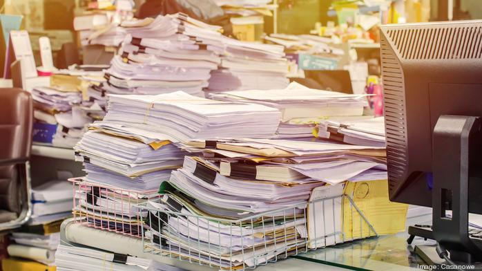 The myth of the paperless office