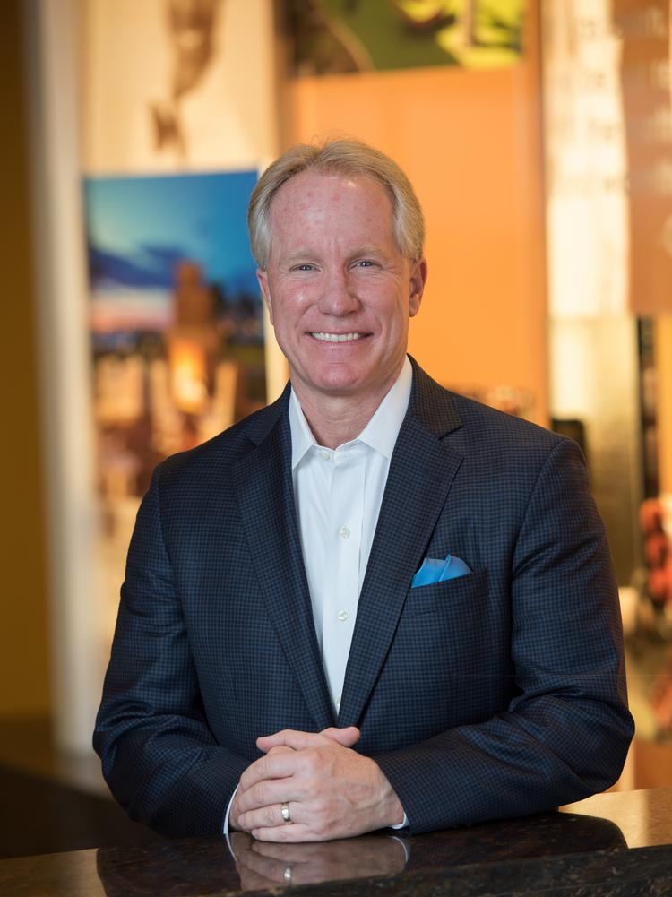 John A Belden President And Ceo Of Atlanta Based Davidson Hotels Resorts