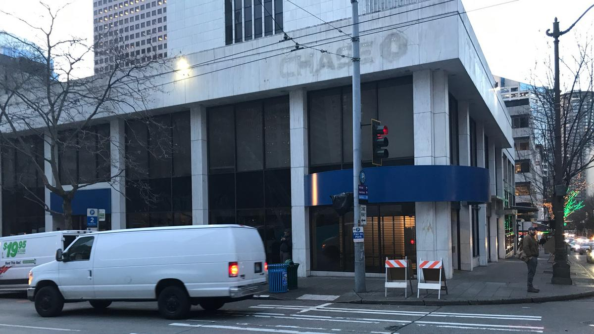 Masterworks Development buys Chase's old Fifth and Union branch to build  mid-rise hotel - Puget Sound Business Journal