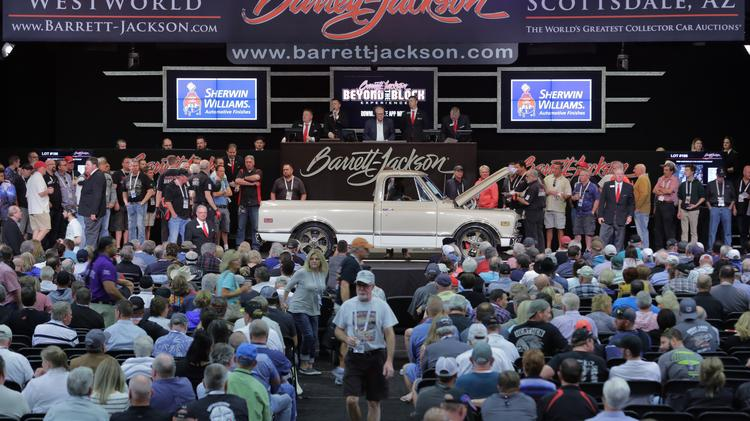 See The Top Cars Sold At BarrettJackson On Tuesday Phoenix - Barrett jackson car show