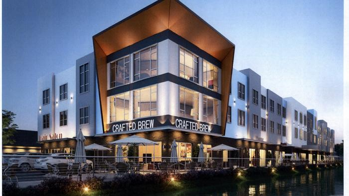 Development with townhomes, shops and office space proposed in Ocoee (RENDERINGS)