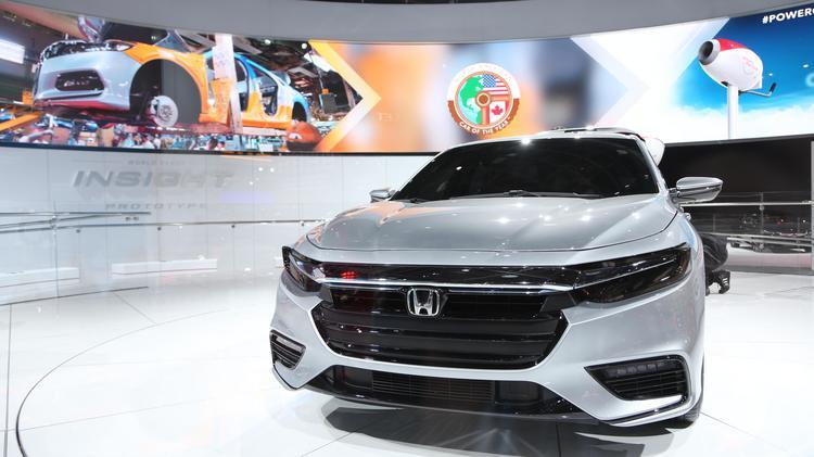 Photos A Preview Of The North American International Auto Show - Honda center car show