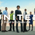 United ferries 'superhero' Olympians in new ads