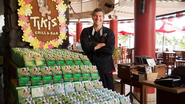 Tiki's Grill & Bar Executive Chef Ronnie Nasuti, pictured here, will listen to pitches from Girl Scouts this weekend in a new event, called Cookie Tank.
