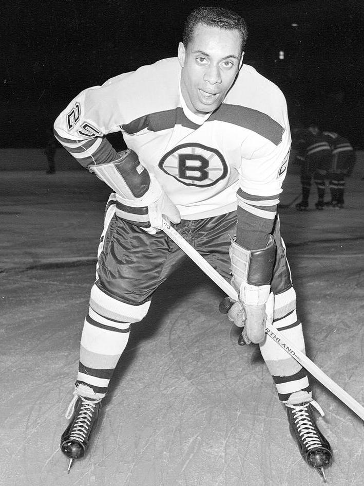 The Conversation How The Boston Bruins And Willie O Ree Broke The