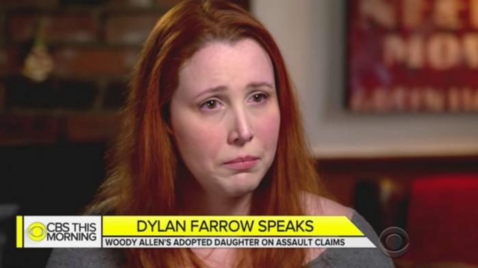 Dylan Farrow wants to be heard