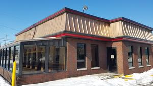 What's up with that Wendy's? It's coming down