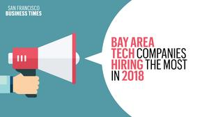 These tech companies have the most job openings in the Bay Area right now