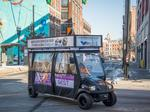 New company offering free golf cart rides in downtown and OTR