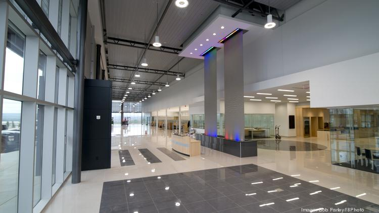 Mercedes Benz Of Birminghams Lobby And Showroom