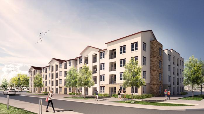 Apartment development planned next to new Confluence Park