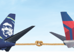 Delta and Alaska Air duel with new and expanded flights