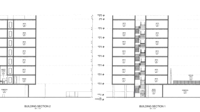 Eight-story development proposed on E. Main Street downtown