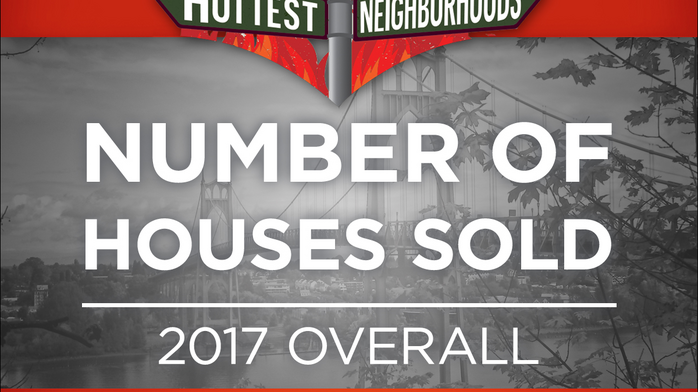 Here are Portland's 25 hottest neighborhoods for home sales in 2017