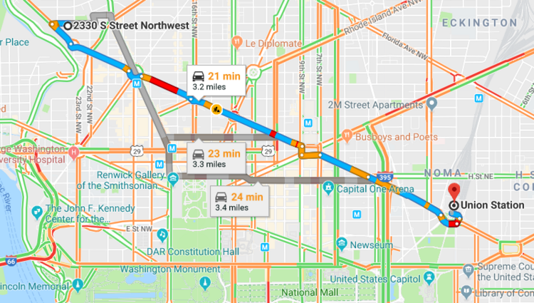 Hey Jeff Bezos Here S What Your Morning Commute To A Hq2 In The Dmv