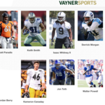 NFL first-round prospect joins VaynerSports' second draft class