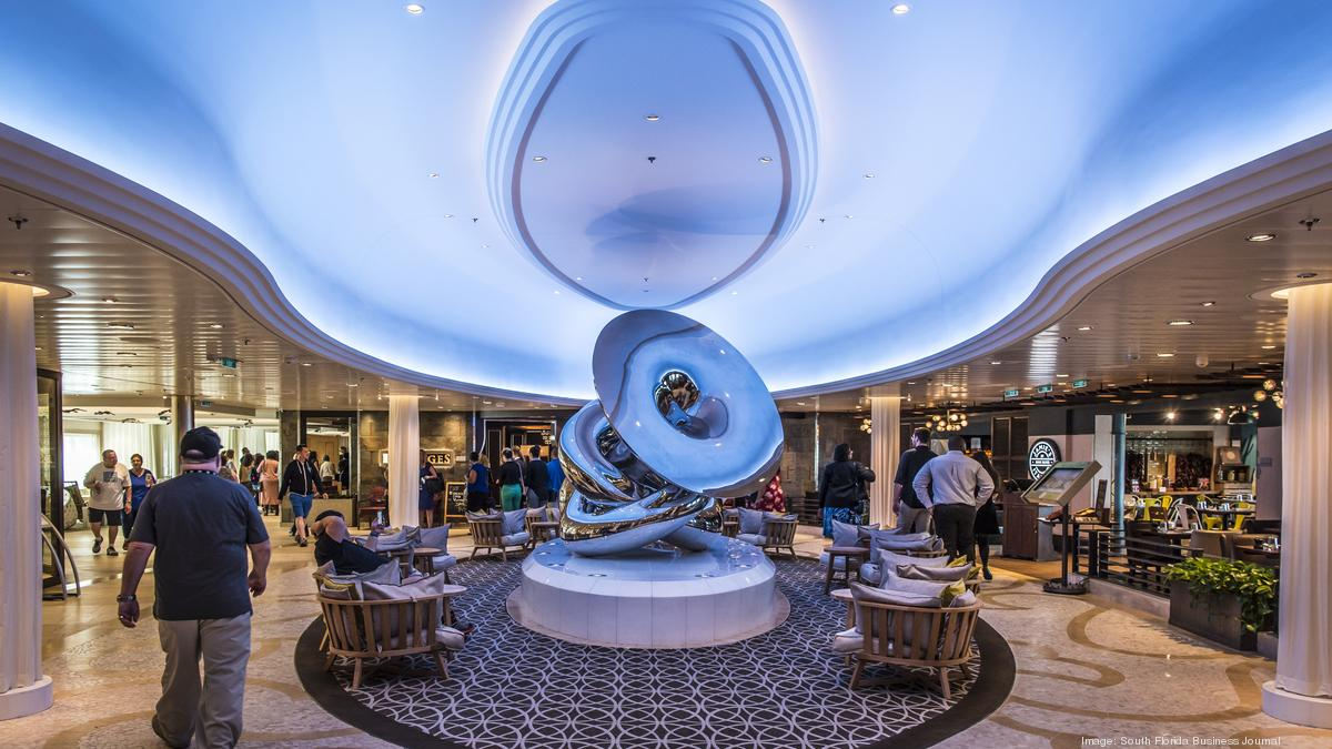 Royal Caribbean S Anthem Of The Seas Visits Miami Video South