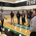 Bradley Tech students tour Bucks facilities in culmination of TechTerns program