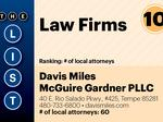 Here are the top law firms in Phoenix