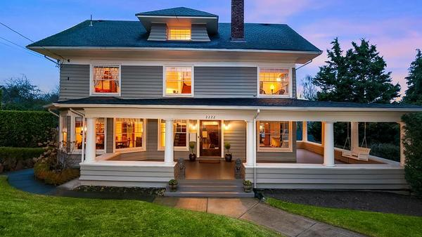 Beauty, History and Timeless Elegance Meet in This Historic Capitol Hill Craftsman