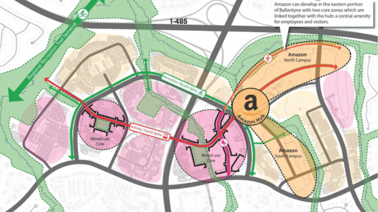 Amazon Hq2 Pursuit Gets Northwood Thinking About Ballantyne S Future