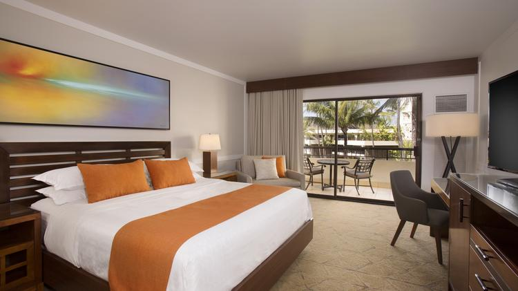 A Rendering Of Newly Renovated Guest Room At The Sheraton Maui Resort