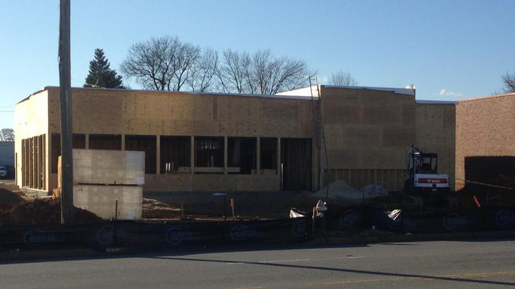 Construction Of The Restaurant Is Underway At High Traffic Site