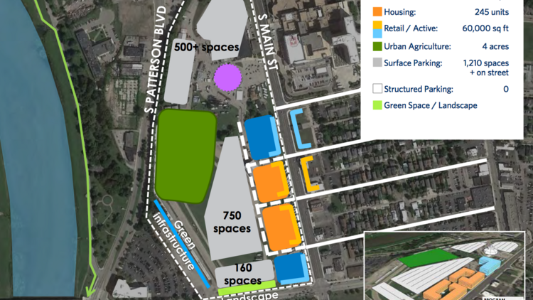 A Diagram Of Initial Layout Plans For The Former Montgomery County Fairgrounds Property This Is