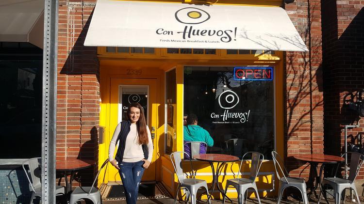 Izmene Peredo Co Owners Of Con Huevos Is Shown Outside Frankfort Avenue