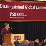 Former Latvia president in Phoenix for ASU's <strong>Barrett</strong> honors college