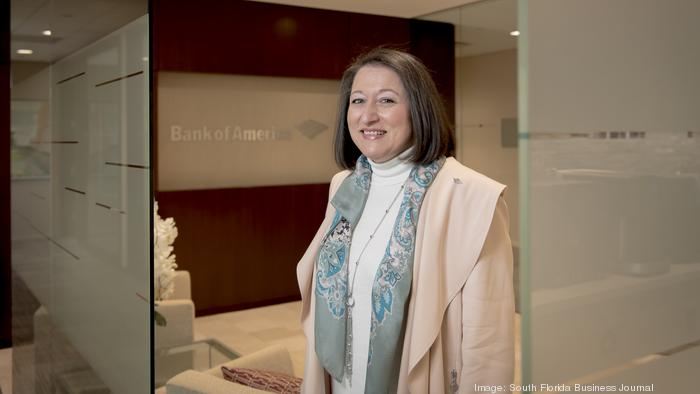 What drives Fabiola Brumley? 'The ability to support businesses in the U.S. and help them mitigate risks and reach new heights,' she says.