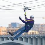Zipline proves to be Super Bowl's most popular event