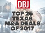 Texas M&A activity plummets in fourth quarter