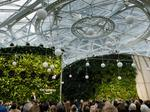 Bezos opens Amazon's Spheres with the help of Alexa