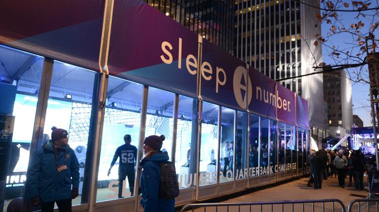 Mall Of America Sleep Number Among Super Bowl Winners