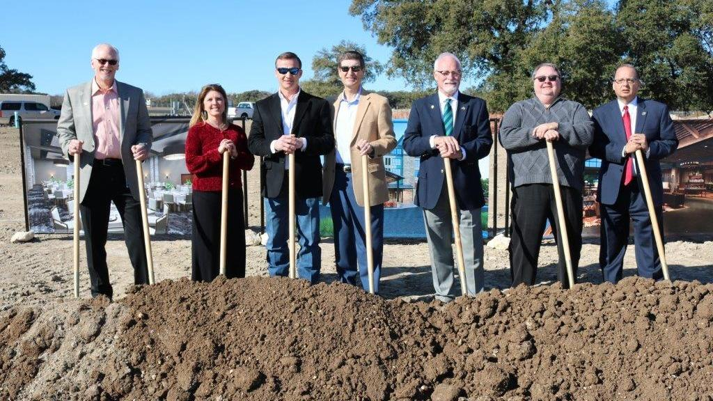 Construction On The Bevy Hotel In Boerne Has Begun San