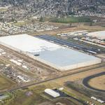 Amazon's 3 new Oregon facilities going up fast