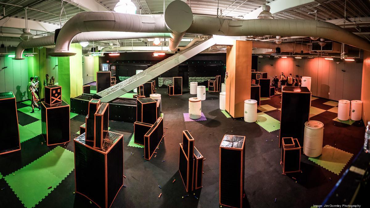 Look Inside Dart Rush Cincinnati S First Nerf Arena
