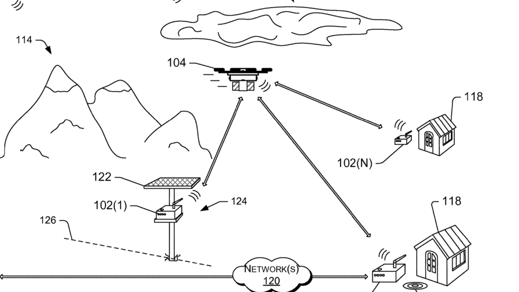 Amazon patents drone delivery beacons that could earn customers cash (Images)