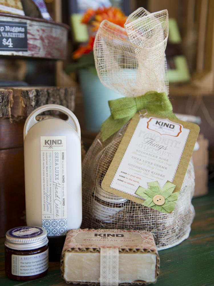 Kind Soap Co. now carries over 100 products, ranging from soaps and lotions to lip balm and bubble bath.