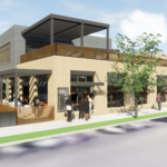 Two-story food hall with rooftop patio pitched near Target Field