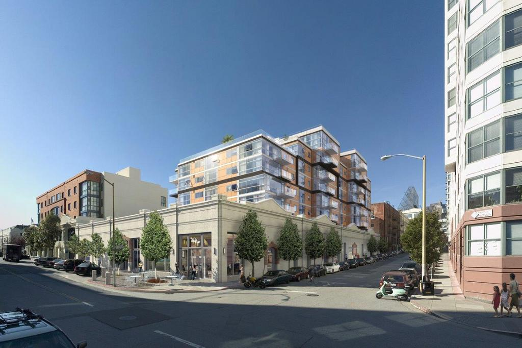 This Rendering Shows What 72 Townsend Will Look Like Once Built