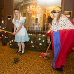 Down the rabbit hole: Scenes from the Book of Lists bash in 'Wonderland'