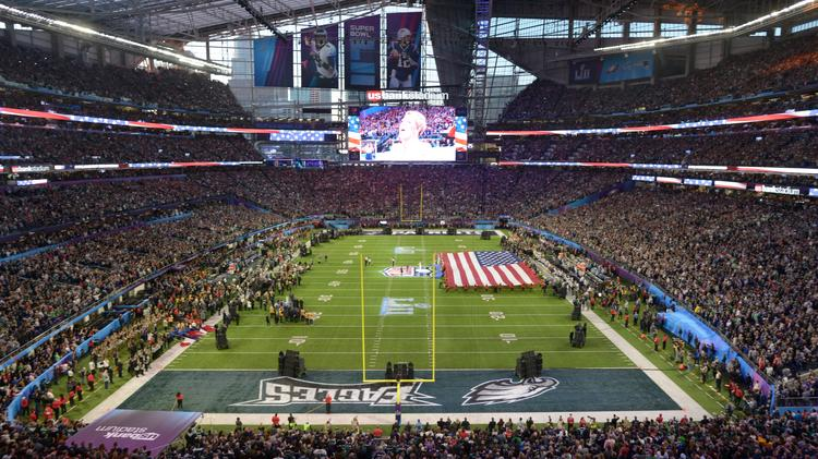 NCAA wants U S  Bank Stadium to cover windows for 2019 Final
