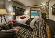 A renovation of the former Royal Valhalla Lodge in South Lake Tahoe will be completed when it opens under a new name, The Landing Resort & Spa, in November. This is a view of a remodeled room.