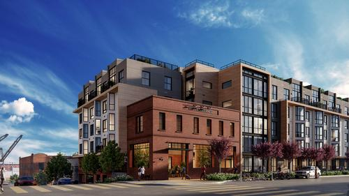 1 bed/1 bath New Luxury Condo in Historic Dogpatch w/Beautiful Outdoor Terrace