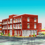 New, three-story building planned for former Downtown Blue Monkey site